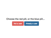 Red pill or blue pill?