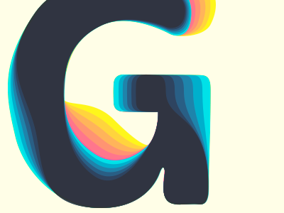 G-play typography