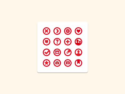 Icon Sheet icons user comment calendar yesgraph