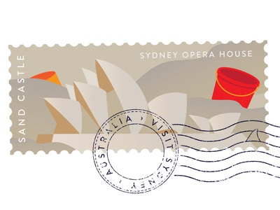 Destinations – Sydney Stamp 01