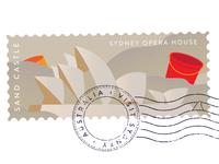 Destinations – Sydney Stamp 01