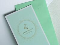 Kiana Beauty Melbourne – brand development 3.0 detail