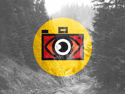 Pics Rebrand photo camera branding logo
