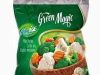 Frozen Vegetables Bag Design