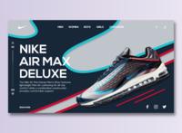 Nike Air Max Deluxe WEB UI