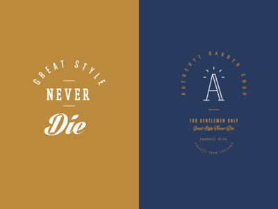 Autocutt Typography