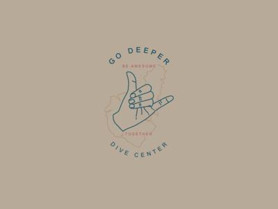 Go Deeper Dive Center Logo