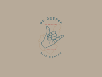 Go Deeper Dive Center Logo