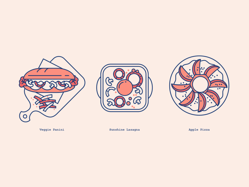 Vivo Pizza Malaysia New Product Launch Icon minimal icon cafe brand and identity vector branding design illustration