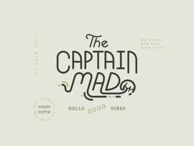 The Captain Mad Logo