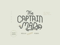 The Captain Mad Logo