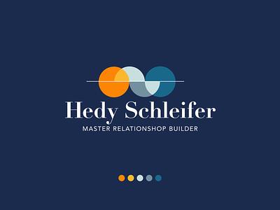 Brand Identity for Hedy Schleifer branding logo geometric flat illustration vector design illustrator adobe illustrator