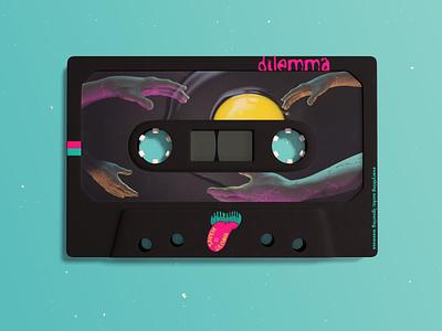 my single productdesign blue egg photoshop illustrator blender3d 3d artist 3d art cassette design illustration vector illustration concept conceptual illustration colour palette