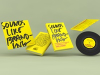 Sounds Like Branding – book design and packaging design