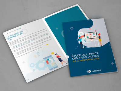 Brochure Livre Blanc graphisme illustration vector brochure design