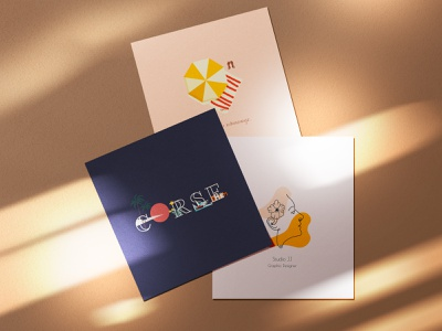 Cartes design graphisme illustration vector