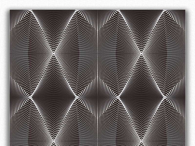 Double Layered Repetitive Pattern By Bjørn Dunkel Dribbble Dribbble