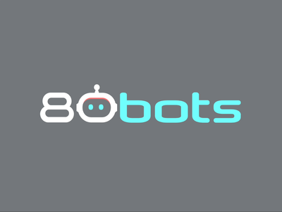 80bots beam. Logo and SVG animation
