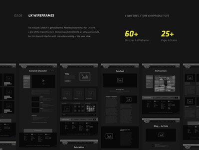 UX wireframes for GoTape website ux design ux webdesign uxdesign responsive elastic store shop ecommerce design magento 2 magento sportsmen performance tape kinesiology sport mockups low-fidelity wireframes high-fidelity