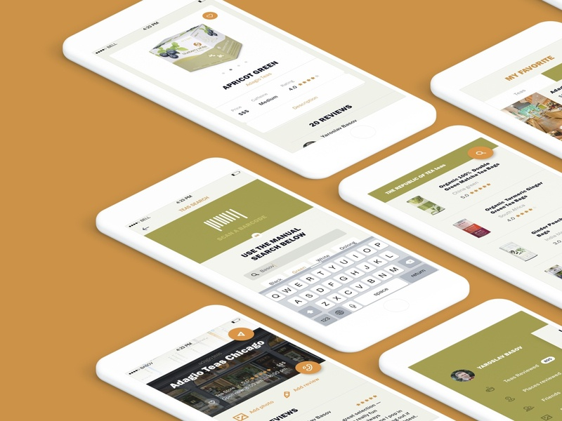 Search screens for Adagio Teas mobile app ecommerce app store adagio find job sort of tea tea accessories teaser fragrant tea mobile application mobile app design mobile app minimal ux ui