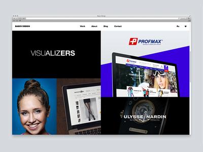 Basov Design Website