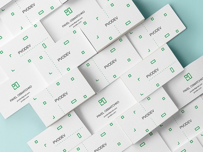 Business cards. PVODEV.
