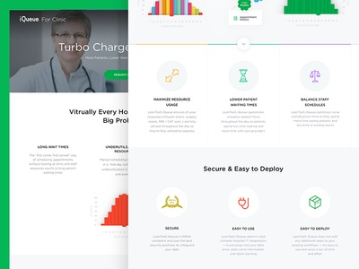 Leantaas.com clinic ui ux basovdesign website web operational excellence science data science lean leantaas