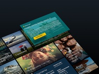 Mini7. Travel web-site