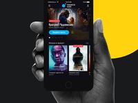 Planeta Kino. Mobile app.