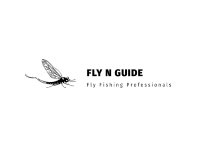 Logo for Sydney Fly Outfitters & Guiding. Fly N Guide