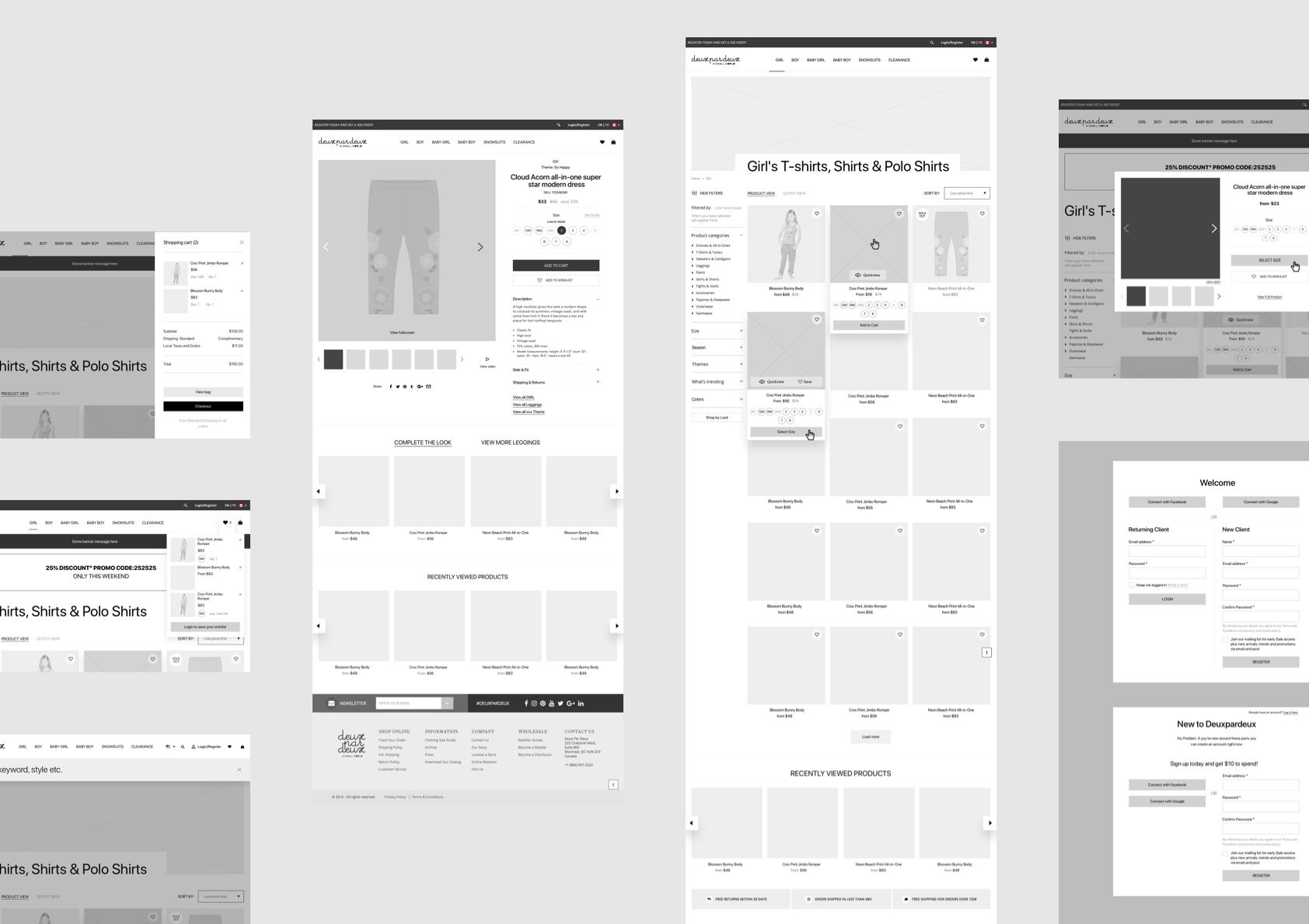 Deuxpardeux website by basov design 2 1