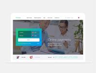 Crypto Bank. Design website for Nebeus. Money4