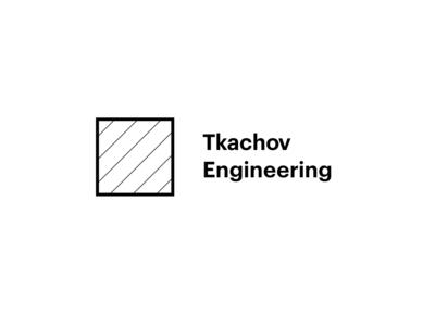 Constructive logo for Tkachov Engineering. TDE