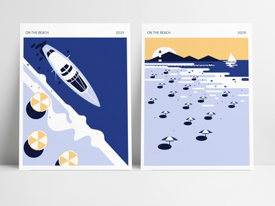 Coast (On the beach) posters