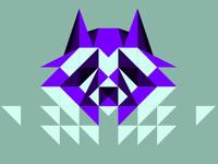blue raccoon