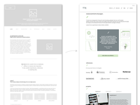 from wireframe to prototype