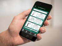 App design for a producer of sanitary facilities