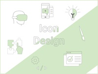 icon design for a brand relaunch