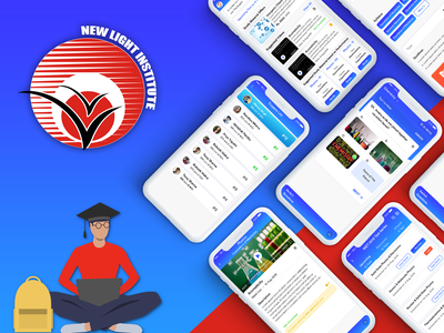 NewLight: A Torchbearer to Your Journey of Becoming a Doctor app design app for education user interface mobile app ui ux design user experience mobile app experience mobile app icon ui  ux design mobile app development mobile app design