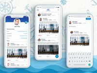 Jana Co App: A Facebook-like App Specifically Designed for Jana business app development social app development ui  ux design mobile app design mobile app development