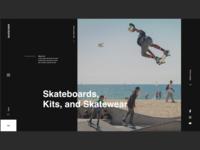 SkateCrew Web Design