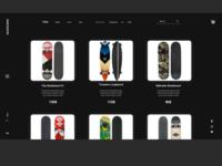 Skate Crew Store Design