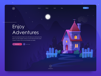 Travel Agency Concept userinterface graphicdesign webdesign web design flat interface illustration ux ui