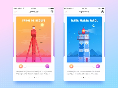 Travel Mission App Concept userinterface icons service europe travel portugal flat ux vector ui illustration appdesign