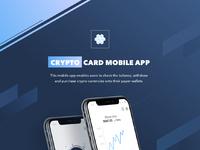 Crypto card behance presentation