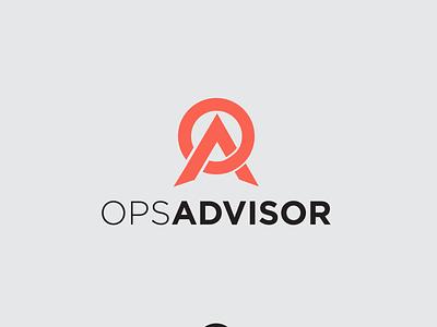Logo Ops Advisor logos monogram modren vector minimal simple logo branding logotype design logo ops advisor