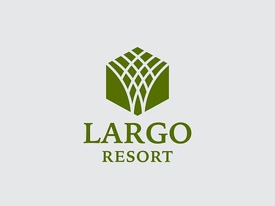 Largo Logo Design illustration vector logotype branding simple logo templates natural simple temlates symbols design logo largo largo logo design