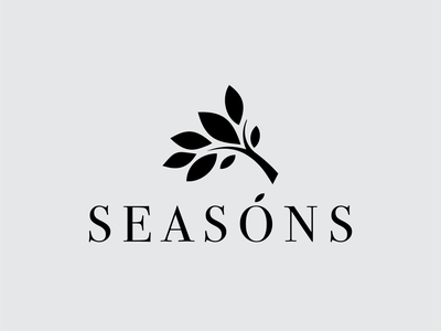 Seasons Logo Design icon illustration minimal templates logos vector simple logo branding logotype design logo seasons seasons logo design