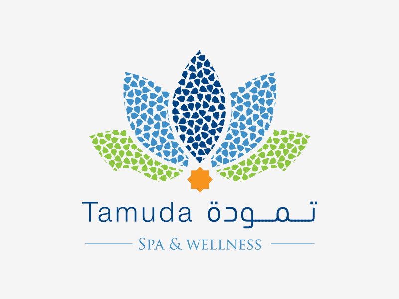 Tamuda Spa spa wellness green blue zellij morocco artisanat mediterranean sauna hammam beauty