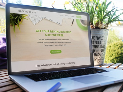 Bookingbricks Landing Page